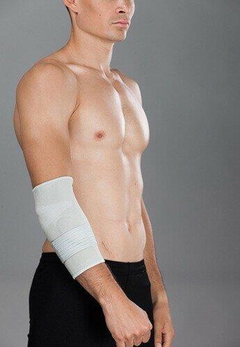 Эластичный бандаж на локоть с эффектом компрессии