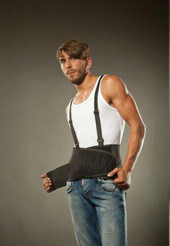 Поясничный корсет для защиты спины