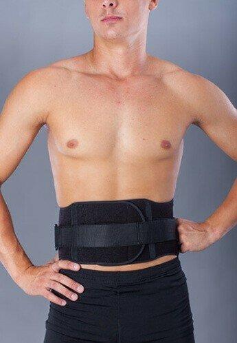 Корсет для спины на ремнях