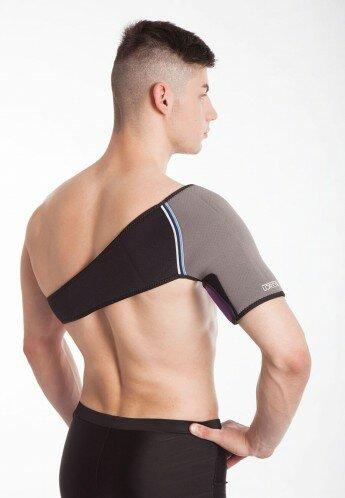 Бандаж плечевой с турмалином согревающий